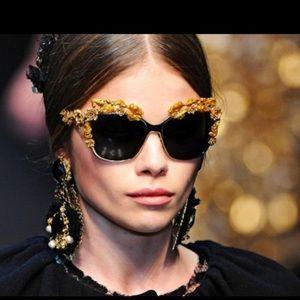 ISO Dolce and Gabbana Baroque Sunglasses